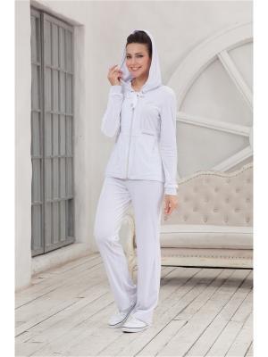 Спортивный костюм CLEO. Цвет: белый