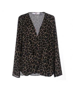 Блузка X'S MILANO. Цвет: черный