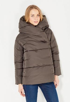 Куртка утепленная Imocean. Цвет: коричневый