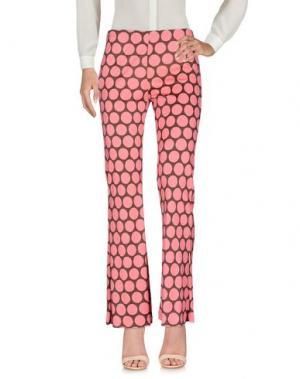 Повседневные брюки MALÌPARMI M.U.S.T.. Цвет: лососево-розовый