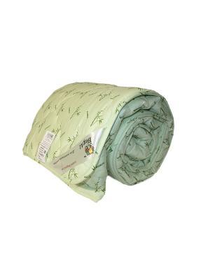 Одеяло стеганое Евро (220*200)  Бамбук BegAl. Цвет: салатовый
