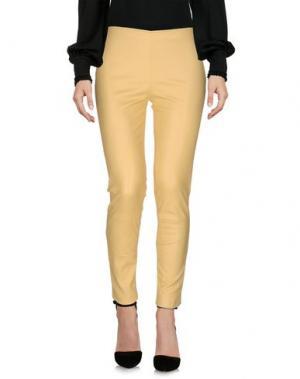 Повседневные брюки THE ROW. Цвет: желтый