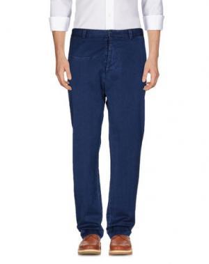 Повседневные брюки ..,BEAUCOUP. Цвет: синий