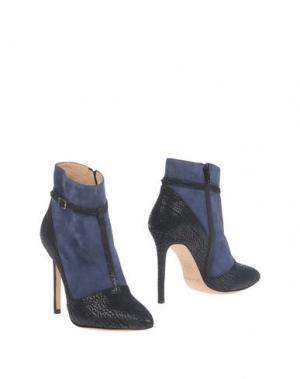 Полусапоги и высокие ботинки ERNESTO ESPOSITO. Цвет: черный