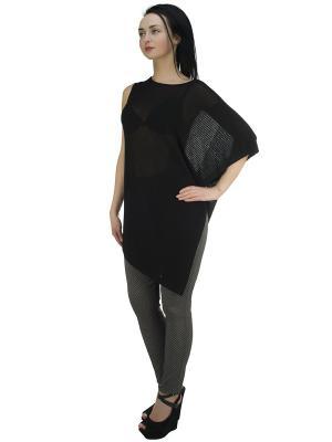 Блузка OROBLU. Цвет: черный