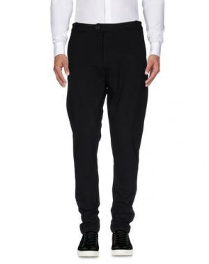 Повседневные брюки QUINTESSENCE. Цвет: черный