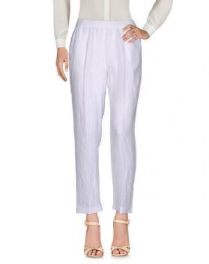 Повседневные брюки WHYCI. Цвет: бежевый