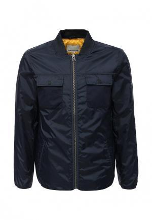 Куртка утепленная Shine Original. Цвет: синий
