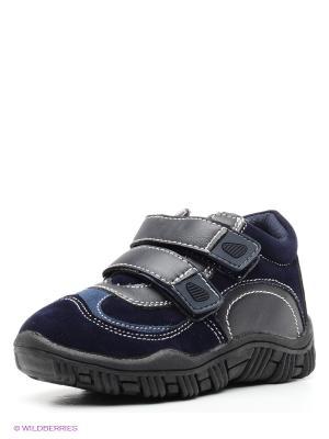 Ботинки PlayToday. Цвет: синий, черный