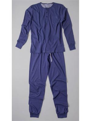 Пижама Extreme Intimo. Цвет: синий