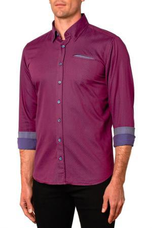 Рубашка Gabano. Цвет: фиолетовый
