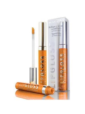 Блеск для губ Мандарин/Lipgloss Mandarine Mavala. Цвет: оранжевый