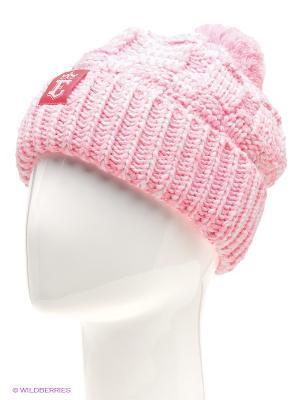 Шапка Ensis. Цвет: белый, бледно-розовый
