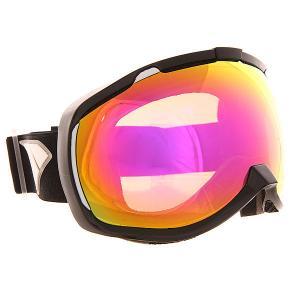 Маска для сноуборда  Bomber Nw Icon Black Pink Mirror Bronz I/S Eyewear. Цвет: черный,оранжевый