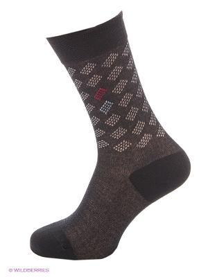 Носки BUONUMARE. Цвет: черный