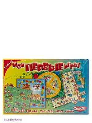 Детская настольная игра Мои первые игры DREAM MAKERS. Цвет: желтый