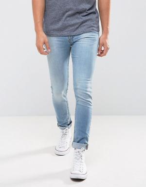 New Look Голубые джинсы скинни. Цвет: синий