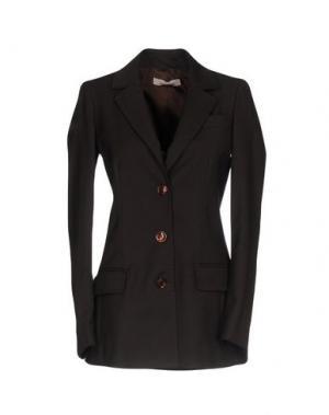 Пиджак NELL&ME. Цвет: темно-коричневый