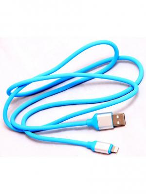 Кабель-переходник USB-8 pin WIIIX. Цвет: голубой