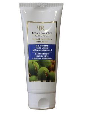 Увлажняющий крем для рук с маслом макадамии Debora Cosmetics. Цвет: бежевый