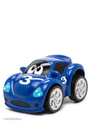Игрушка турбо машина Fast CHICCO. Цвет: синий