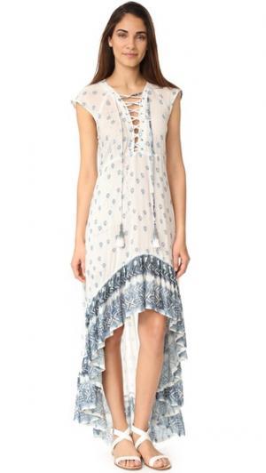 Платье Mali Jen's Pirate Booty. Цвет: голубой