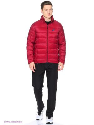 Куртка PADDED JACKET ASICS. Цвет: бордовый, красный