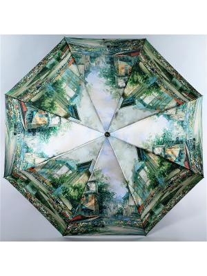 Зонт Trust. Цвет: зеленый, желтый, красный
