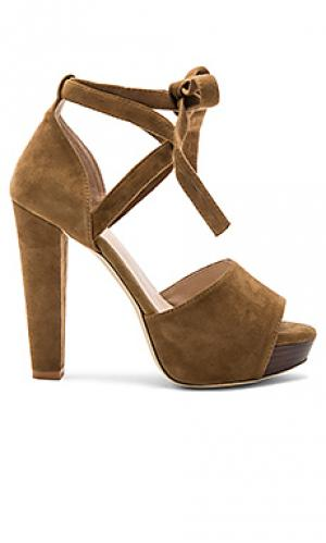 Туфли лодочки hadley RAYE. Цвет: коричневый