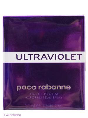 Парфюмерная вода ultraviolet, 50 мл PACO RABANNE. Цвет: прозрачный