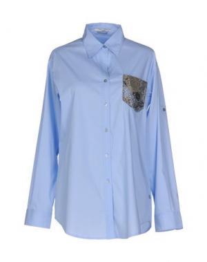 Pубашка FAIRLY. Цвет: небесно-голубой
