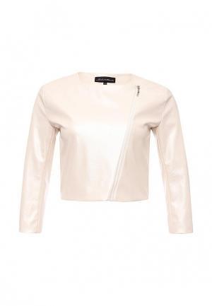 Куртка Disash. Цвет: бежевый