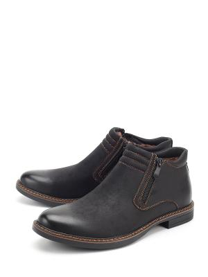 Ботинки LETMI. Цвет: черный
