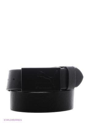 Ремень Puma PU Belt. Цвет: антрацитовый