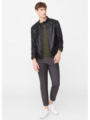 Куртка - JUAN MANGO MAN. Цвет: черный