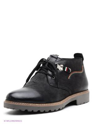 Ботинки Dino Ricci. Цвет: темно-серый