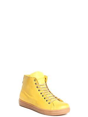 Ботинки MILANA. Цвет: желтый