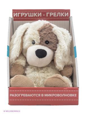 Игрушка-грелка Cozy Plush Песик Warmies. Цвет: молочный