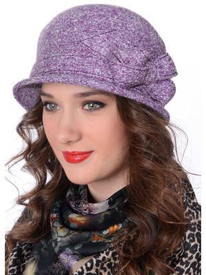 Шляпа Сиринга. Цвет: сиреневый, серый