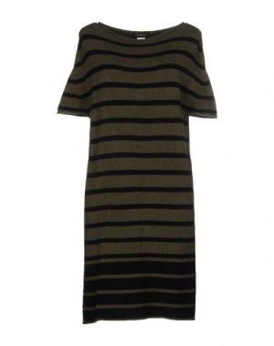 Короткое платье ALFONSO RAY. Цвет: зеленый-милитари