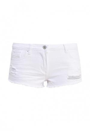 Шорты джинсовые Urban Bliss. Цвет: белый