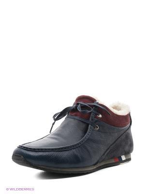 Ботинки MILANA. Цвет: антрацитовый, серый, темно-серый