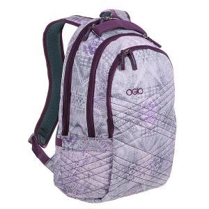 Рюкзак школьный  Synthesis Pack 1 Folk Ogio. Цвет: серый,фиолетовый