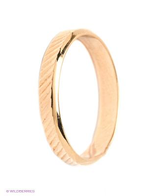 Обручальное кольцо ЭСТЕТ. Цвет: золотистый