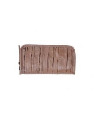 Бумажник CATERINA LUCCHI. Цвет: светло-коричневый