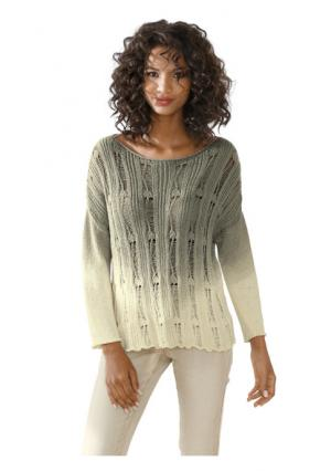 Пуловер Linea Tesini. Цвет: хаки