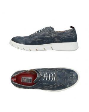 Обувь на шнурках YAB. Цвет: темно-синий