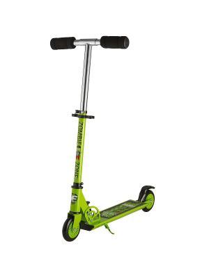 Самокат городской Foxx Zomby Zone алюм сталь PU колеса 100мм ABEC-7. Цвет: зеленый