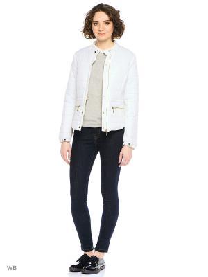 Куртка Modis. Цвет: светло-серый