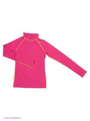 Лонгслив CMP. Цвет: розовый